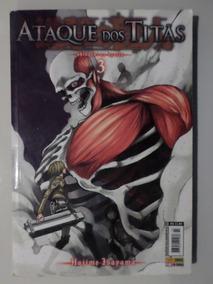 Manga Ataque Dos Titãs 3 Temos Mais Edições