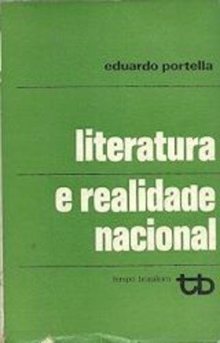 Literatura E Realidade Nacional