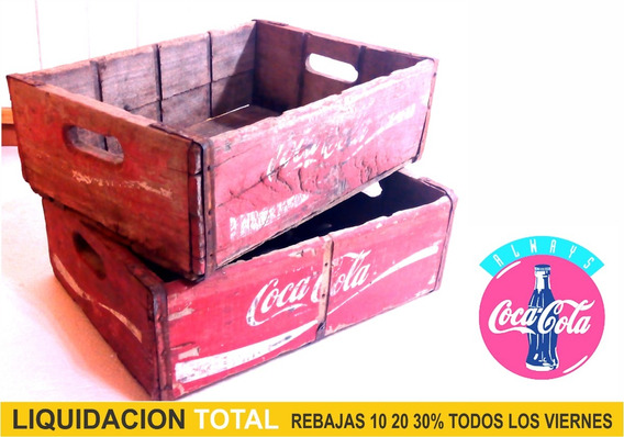 Cajon De Coca Cola Vintage