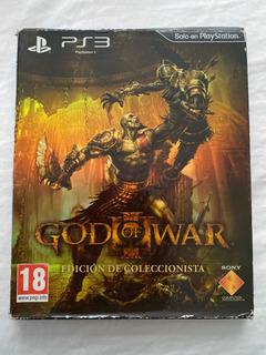 God Of War 3 Edición De Coleccionista Playstation 3 Ps3