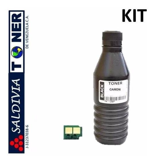 Kit Recarga Toner Con Chip Hp 35a 36a 78a 85a 49a 53a 13a