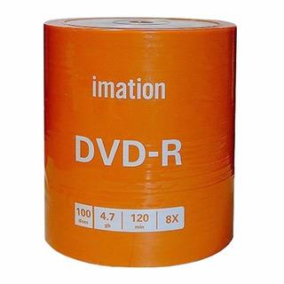 Dvd-r Imation O Memorex Estampado X100 Unidades 4.7gb