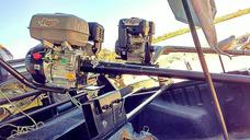 Pata Puyer Con Motor 13hp Arranque Manual- Hélice De Bronce