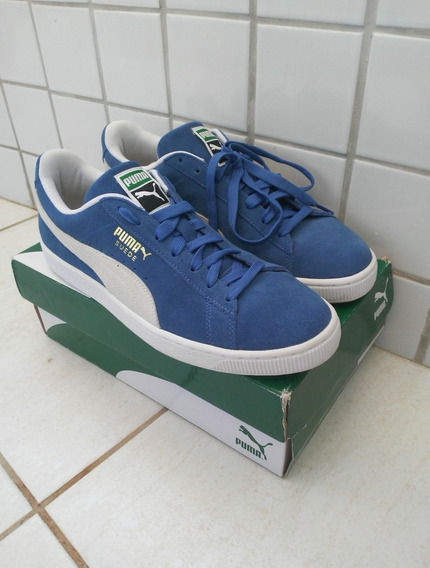 Tênis Puma Suede Classic Azul
