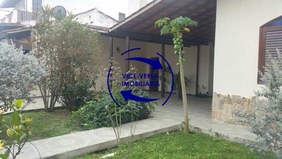 Exclusividade!!! Casa Linear À Venda Em Itaipu, Estilo Colonial - Varandão, 2 Quartos, Banheiro Social, Lavanderia, Dependências! - 1301