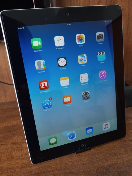 iPad 2 Apple 16gb Wi-fi, Tela 9,7 , Ios 9