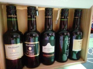 Coleccion De Vinos Oporto Grahams Botellas X 200ml.