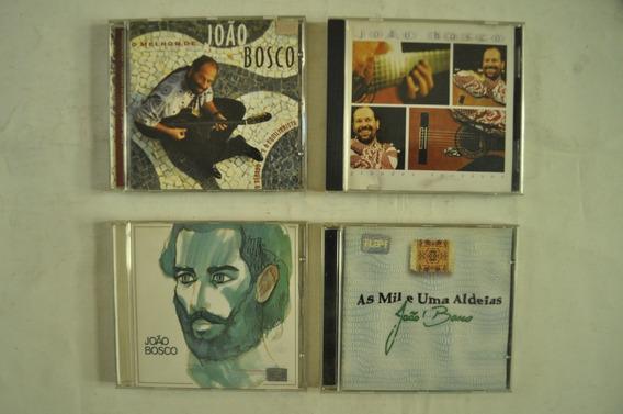 Lote X4 Joao Bosco Cd Música Brasil San Telmo