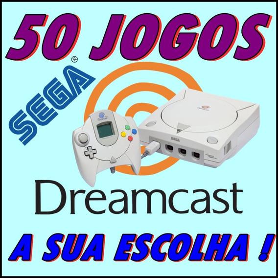 50 Jogos Patch Dreamcast - A Sua Escolha