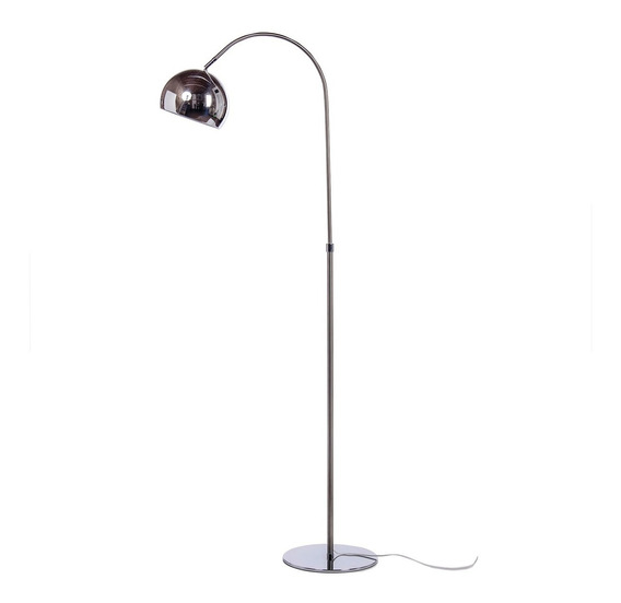Lampara Pie Curva Arco Moderna Living Vintage Retro Led Lmp