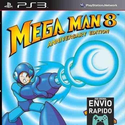 Megaman 8 Mega Man 8 - Jogos Ps3 Original
