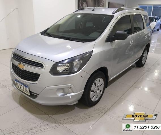 Chevrolet Spin Lt 5 Asientos C/gnc 1.8n