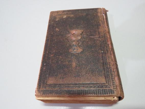 Livro Antigo Religioso Catecismo Polonês