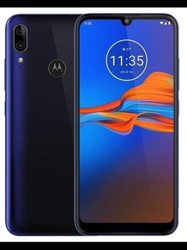 Celular, Motorola (moto E 6 Plus) Azul E Preto