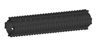 Kit Handguard 32cm+ Stock Clássico 27cm Para Airsoft
