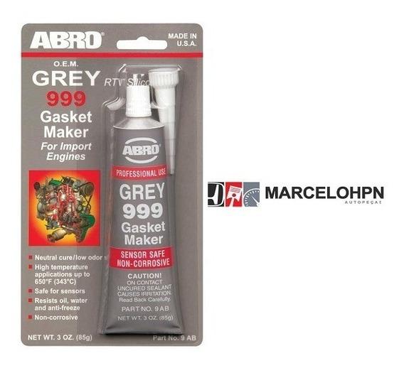 Junta Silicone Vedação De Alta Temperatura Abro Gray 999