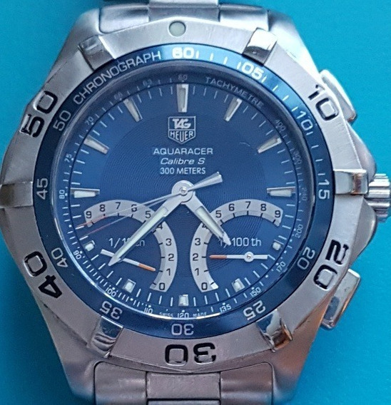 Tag Heuer Aquaracer Calibre S Cronografo Flyback 1/100 S