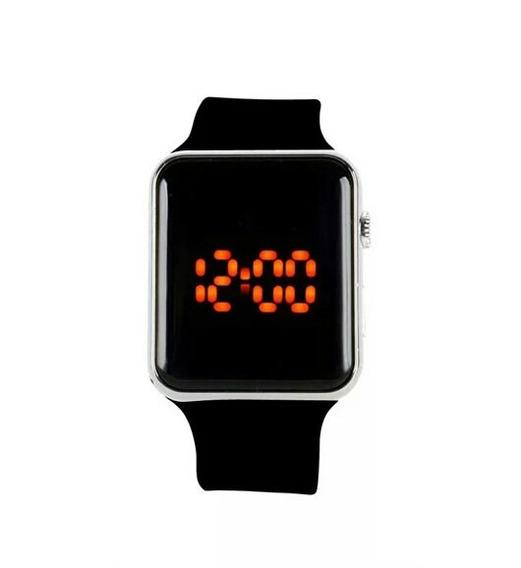 Relógio Pulso Masculino Feminino Digital Led Super Barato