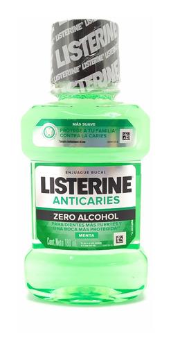 Listerine Enjuague Bucal Anti Caries Sin Alcohol
