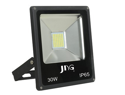 Refletor Super Led Jng Eco 30w 6500k Bivolt Branco Frio