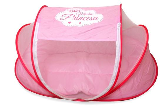 Mosquiteiro Portátil Super Confortável Pronta Entrega Rosa