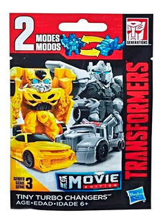 Transformers Sobre Tiny Turbo Changers 2 Modos Hasbro