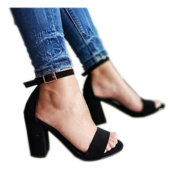 Zapatillas Tacones Jesvanik De Moda Buen Fin Para Mujer