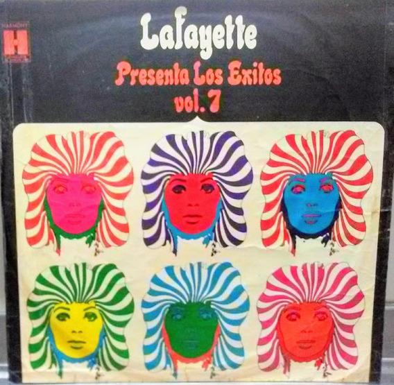 Vinilo De Lafayette - Presenta Los Exitos -vol. 7 - Original