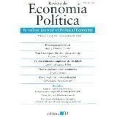 Livro Revista Economia Política - Volume 26 Vários Autores