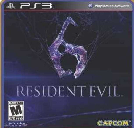 Resident Evil 6 Re6 Ps3 Psn Português Envio Rápido