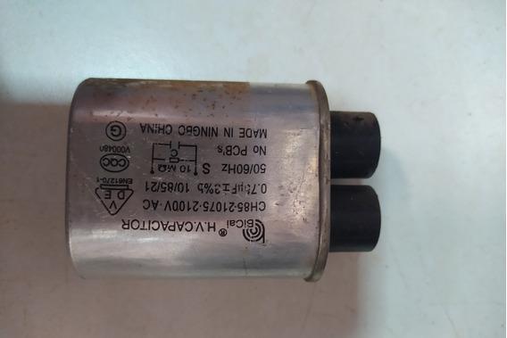 Capacitor De Microondas 0,75uf 2.100v