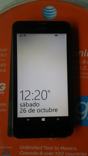 Nokia Lumina 635 Windows Phone 8.1 Liberado (usado)