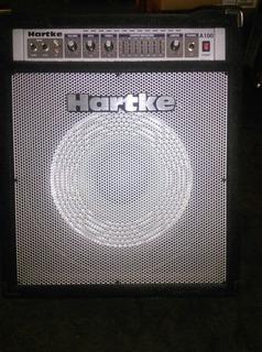 Amp. Hartke 100watts Cono De Aluminio, Para Bajo