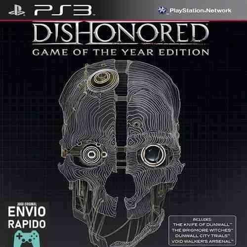 Dishonored Goty + Todas As Dlcs - Jogos Ps3 Original