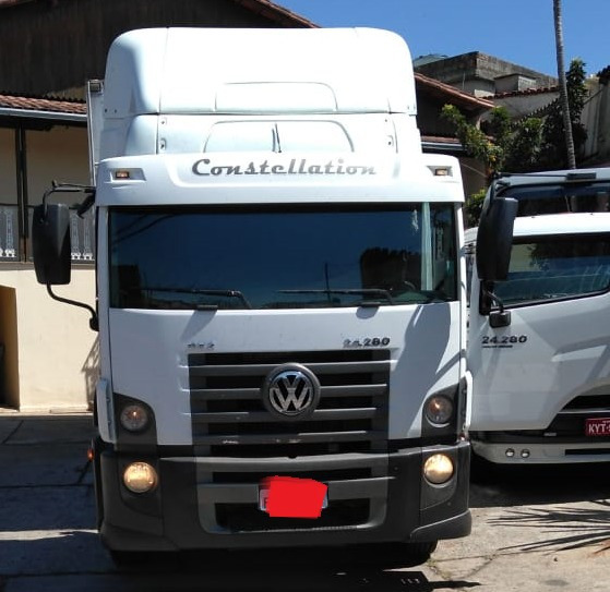 Vw 24280 Constellation 2012 No Bau Refrigerado