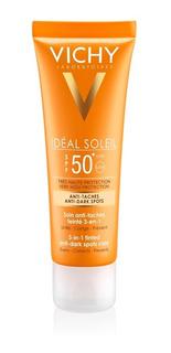 Vichy Ideal Soleil Fps 50+ Protector Anti-manchas 3en1 Openf