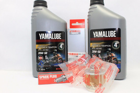 Kit Vela, Óleo, Filtro De Óleo E De Combustível Yamaha 150