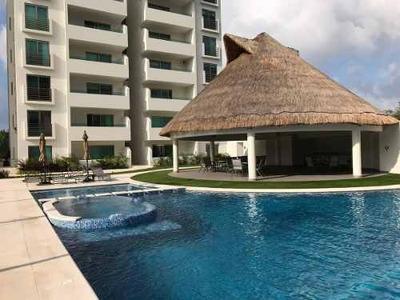 Penthouse Renta 3 Rec Nuevo, Cancun Residencial Aqua, A Estrenar Excelente