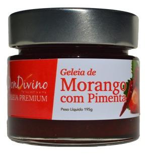 Imagem 1 de 1 de Geleia De Morango Com Pimenta 190g  - Don Divino