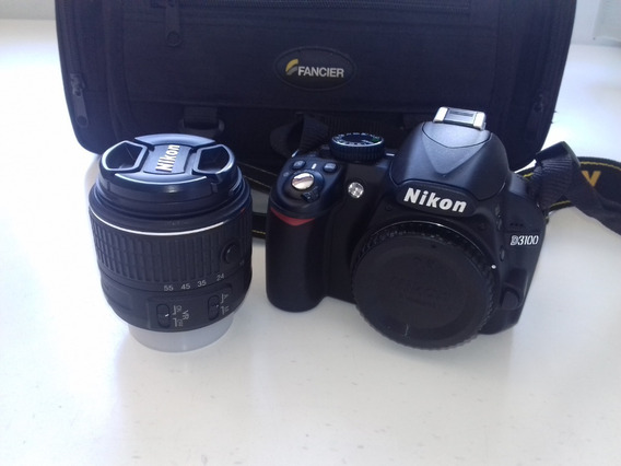 Câmera Nikon D3100 + Bolsa Para Transporte Fancier