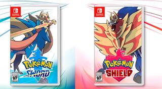 Nintendo Switch .....pokémon .... Shield And Sword .....