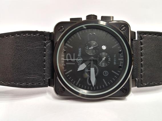 Relógio B & R Aviator 46mm