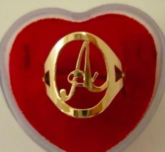 Anel De Letra A Antonio Amanda Alice Adriana Alana