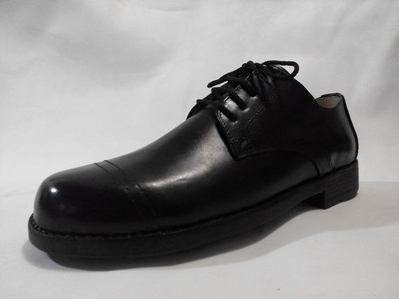 E´s, Zapato De Hombre Cuero, Para Uniforme