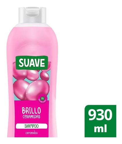 Shampoo Suave Brillo Ceramidas 930 Ml