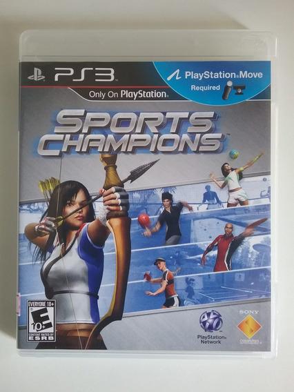 Sports Champions Ps3 Mídia Física Original Perfeito