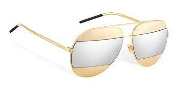 Oculos Dior Original Split Gold 100% Autentico