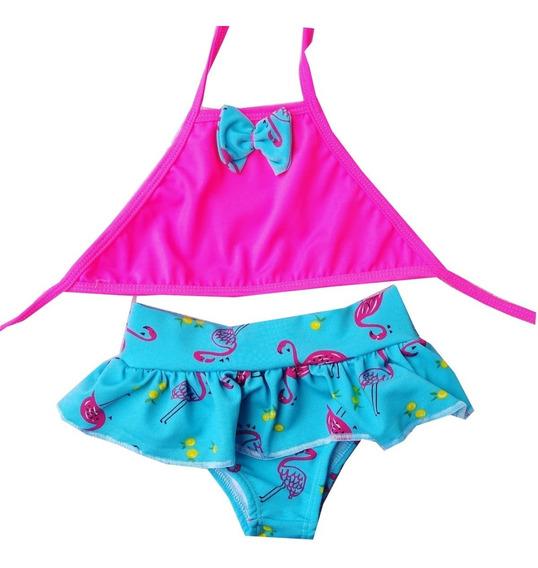Biquini Bikini Retro Infantil Bebe Ref: 52617