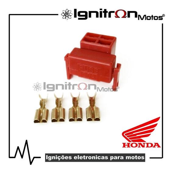 Plug Conector Relê De Partida Honda Tornado