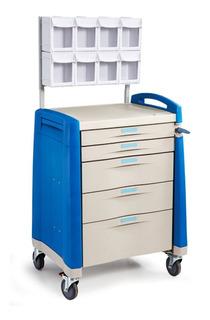 Carro Hospitalario De Anestesia Con Ruedas En Abs Bt168fm-10